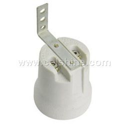 Electrical Lamp Holder with metal bracket SY519B-3