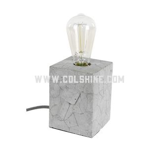 cement table lights with CE RoHS certificate