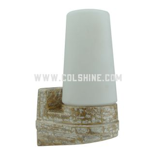 E14 Retro porcelain lighting in marble color -405