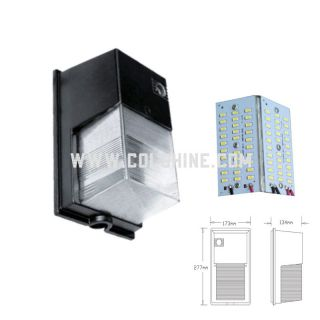 led wall pack light wall mounting