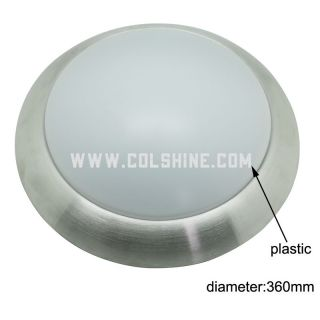 Top quality led ceiling light with plastic cover AC85-265V 15W-20W