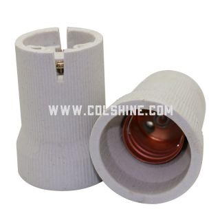 E40 ceramic lamp socket for Russia