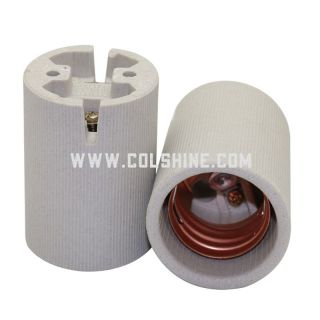 Ceramic socket E40 to Russia