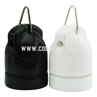 CERAMIC FESTOON E27 SCREW BULB HOLDER